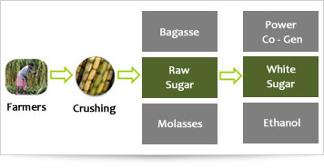 Integrated Sugar Mills Process